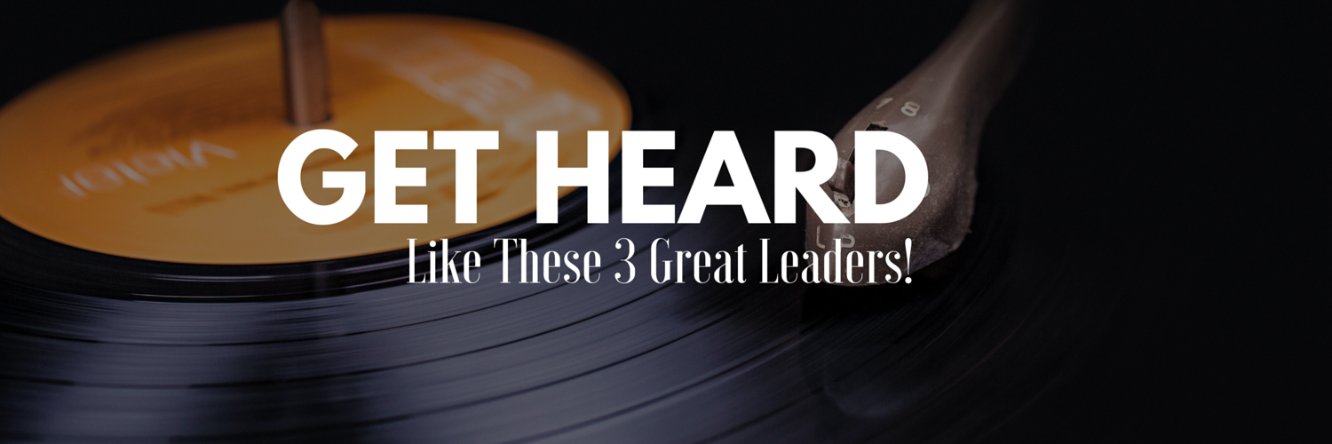 how to plant a church and get heard like these 3 great leaders