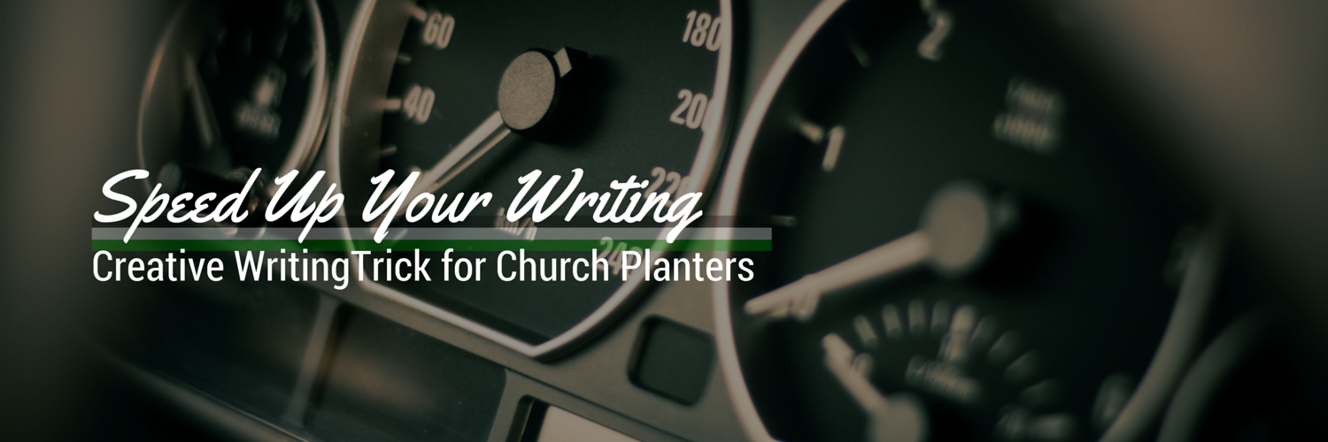 Dictation: Creative Writing Trick for Busy Church Planters